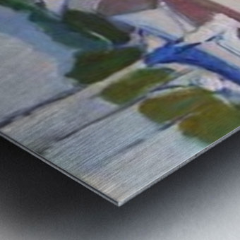 red.white.blue Metal print