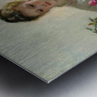 A Summer Bouquet Metal print