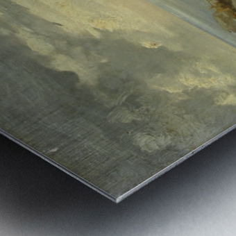 Landscape in Taormina, Sicily Metal print