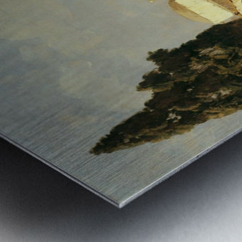 On Ischia in Casamicciola Metal print