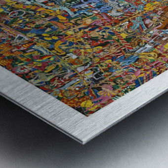 Sirkus - The circus Metal print