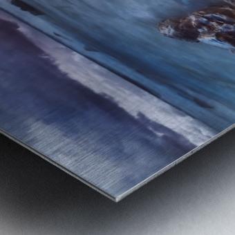 Buffer Metal print
