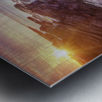 Featherweight Metal print