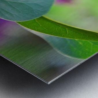 Lilac hearts Metal print