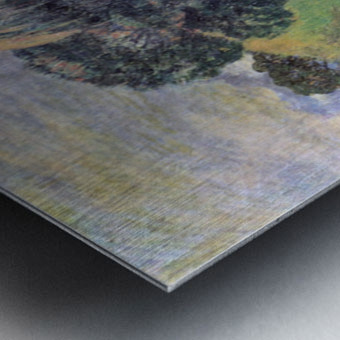 Landscape by Gauguin Metal print