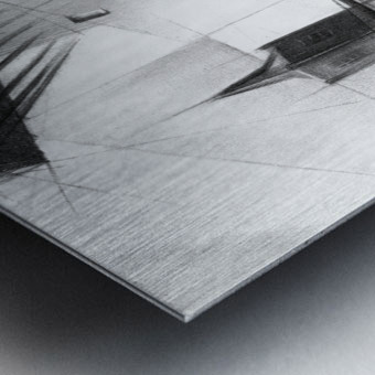 Schiedam - 11-08-16 Metal print