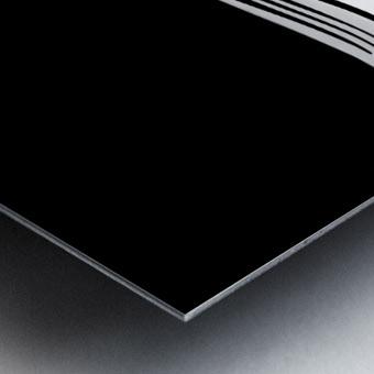 Minimal Abstraction Metal print
