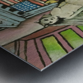 Occupy Wall Street Metal print