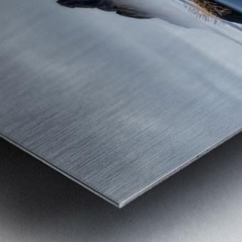 Stokksnes Metal print