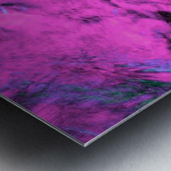 Pink Pyre Metal print