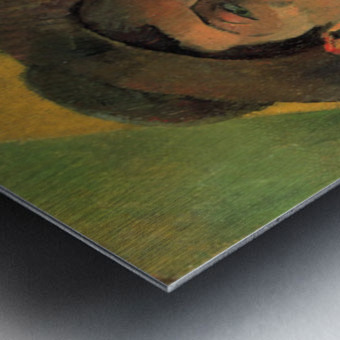 Self Portrait by Gauguin Metal print