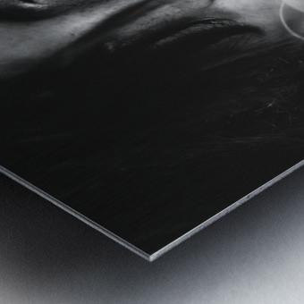 Smokey Metal print