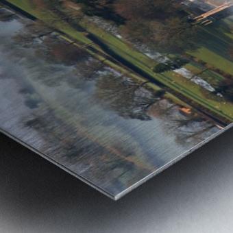 Brentor mist Metal print