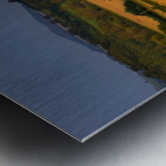 East Devon balescape Metal print