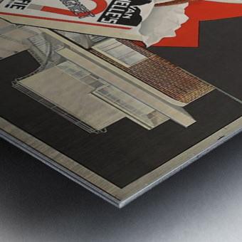 Van Nelle German Koffie Metal print