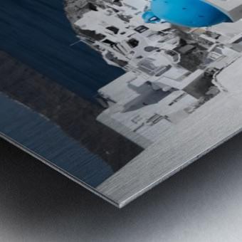 Blue Church Metal print