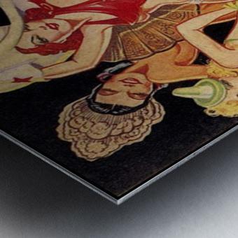 Billy Rose presents Casa Manana Metal print