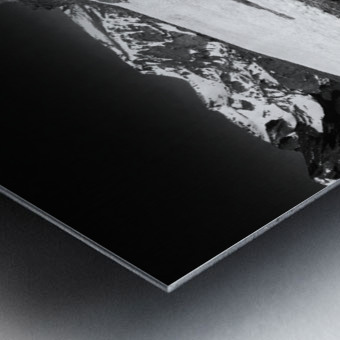The Tundra Metal print