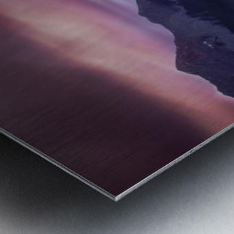 Spray Lake Sunset Metal print
