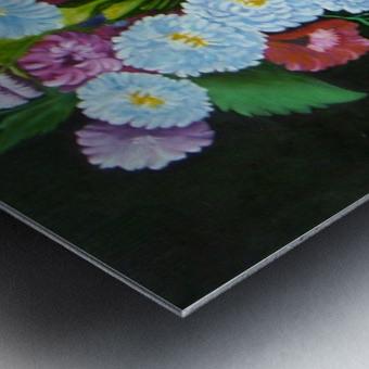 Floral Galaxy Metal print