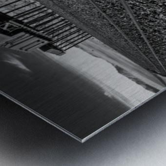Refuelling Point  Metal print