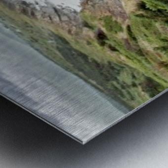 Chilling at Cap Lemoine Metal print