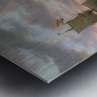 Walvisvangst Metal print