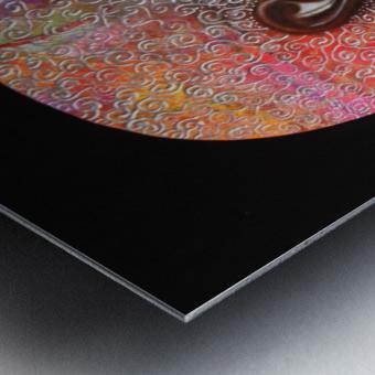 Nzinga Metal print