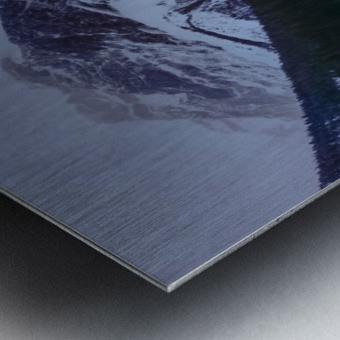 Emerald Lake Lodge Metal print