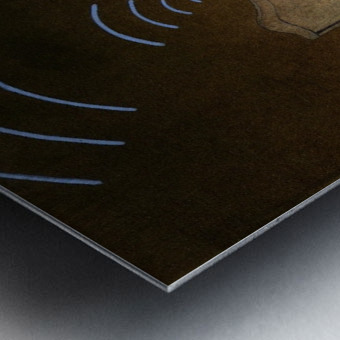 wireless Metal print