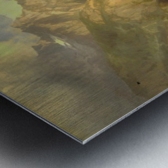 The Jungfrau, Switzerland Metal print