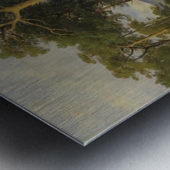 A forest landscape Metal print