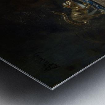 The Lake of Thun Metal print