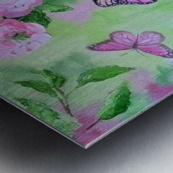 Бабочка   Metal print