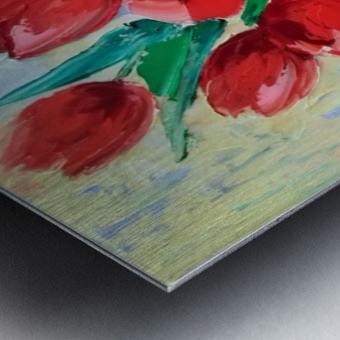Тюльпаны Metal print
