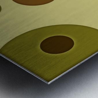 Orbicular Design Metal print
