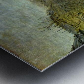 Boulevard of Capucines by Monet Metal print