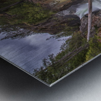 Myra Falls, Strathcona Provincial park; British Columbia, Canada Metal print