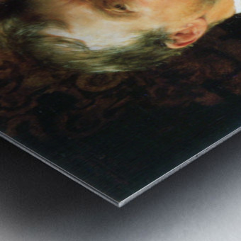 Self Portrait by Alma-Tadema Metal print