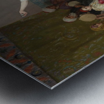 Oriental dance Metal print