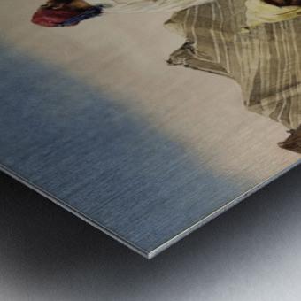 Nomades du desert Metal print