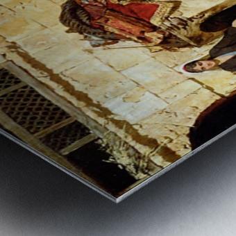 Swoboda carpet menders Metal print