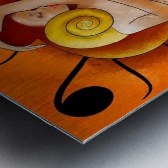 Aspenissia_V1 - violinhair Metal print