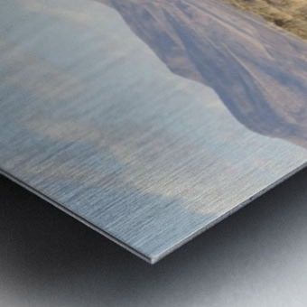 Landscape around Fort Craig VP1 Metal print