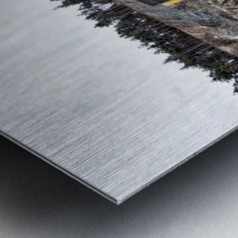 Loading Metal print