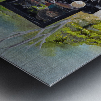 Popcorn Sutton - Looking For Likker Metal print