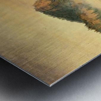 Giant Blue Spring, Yellowstone Metal print