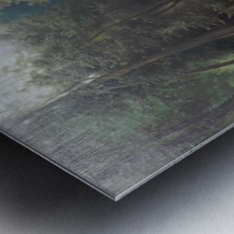 Badende Madchen im Park von Terni Impression metal