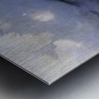 Galgenberg bei Gewitterstimmung Impression metal