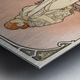 La Dame aux Camelias poster Metal print